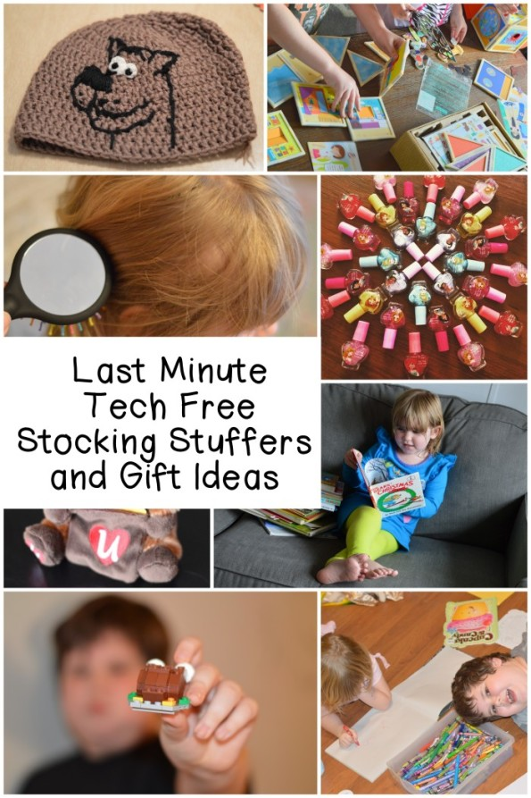 Last Minutes Tech Free Stocking and Gift Ideas