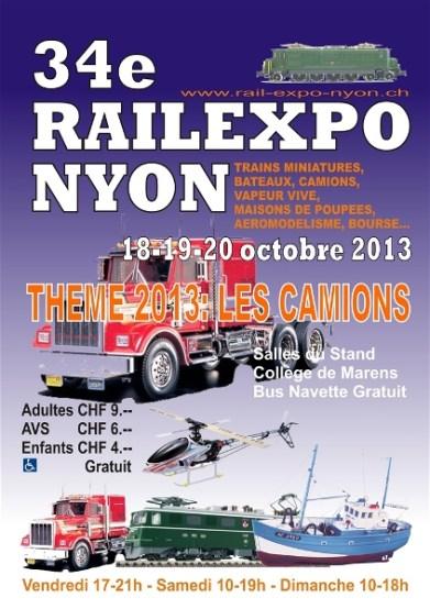Affiche Rail -Expo 2013