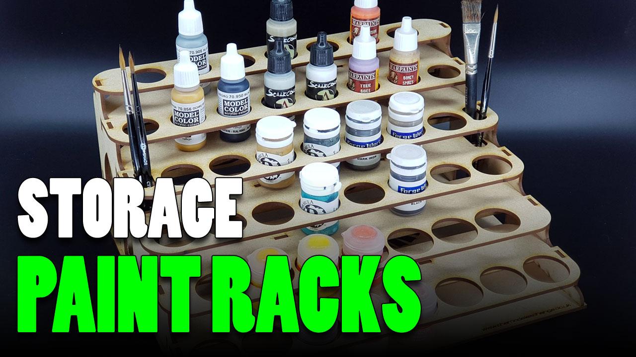 22 of the best miniature paint rack