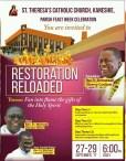 Restoration Reloaded 2017 – Day 1