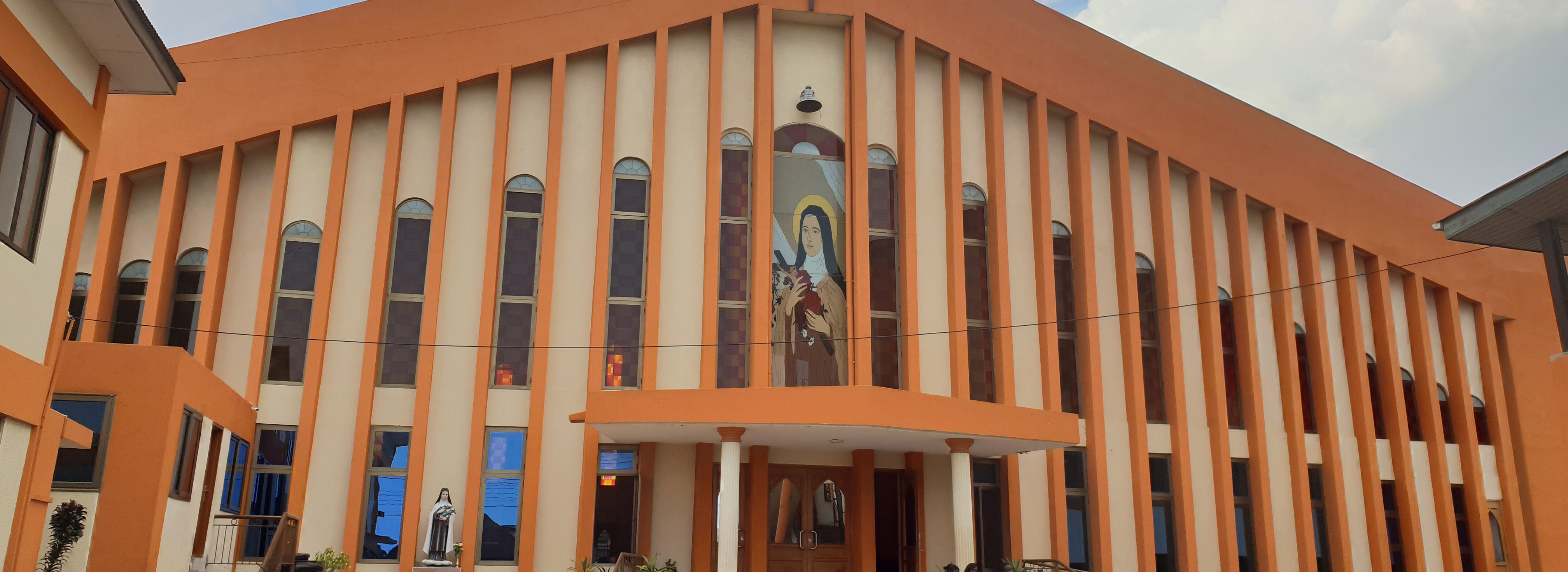 St Theresa Church frontage