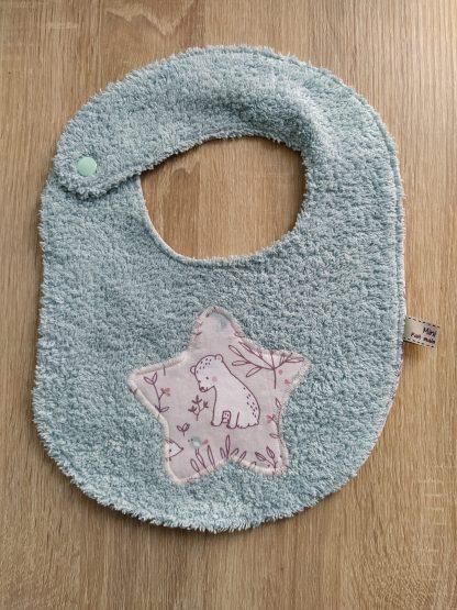 bavoir bébé taille 6-24 mois motif animaux mignons