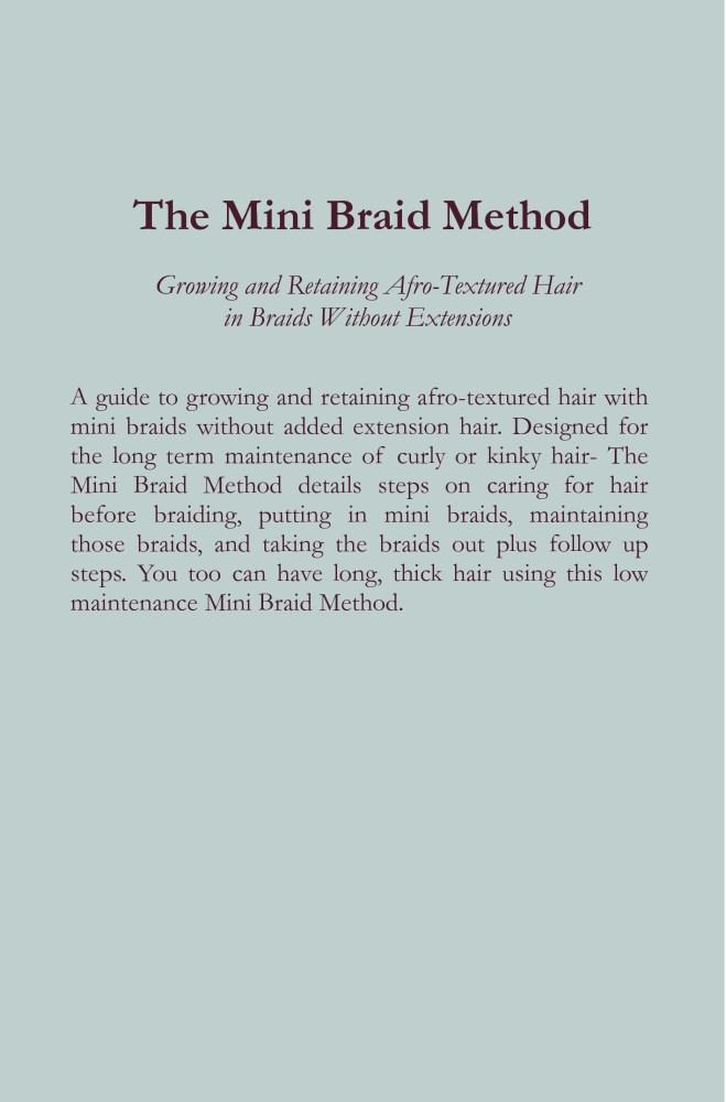 Ebook: The Mini Braid Method (2/5)