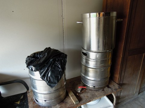 Kadź zacierna, filtracyjna i fermentor