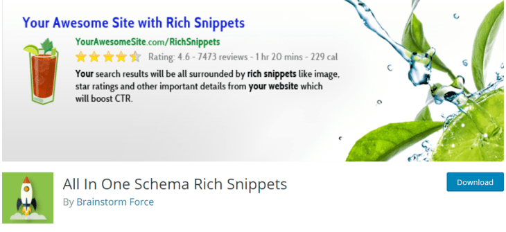 All In One Schema Rich Snippets Pluging