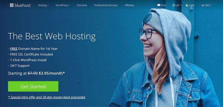 Wordpress Bluehost Hosting