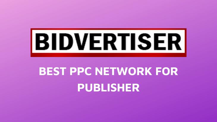 Bidvertiser Review Best PPC Ad Network