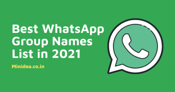 Best WhatsApp Group Names List in hindi