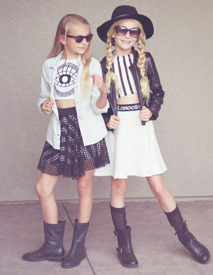 Black & White with LANOOSH