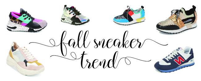 Fall Sneaker Trend