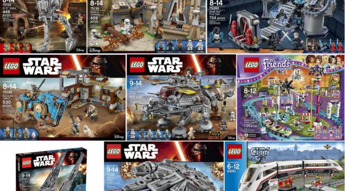 Sets On Sale On Amazon Us For Lego Star Wars And Friends And