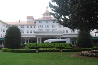 A luxury resort that I definitely did not sneak into.