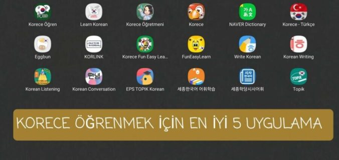 korece-kitap-oku, korece-uygulamalar- korean-apps-korece-dil-uygulamaları