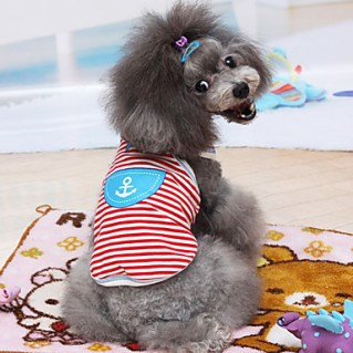 [USD $ 13.99]  - Sailor Style Vests for Pets Dogs (Assorted Sizes)