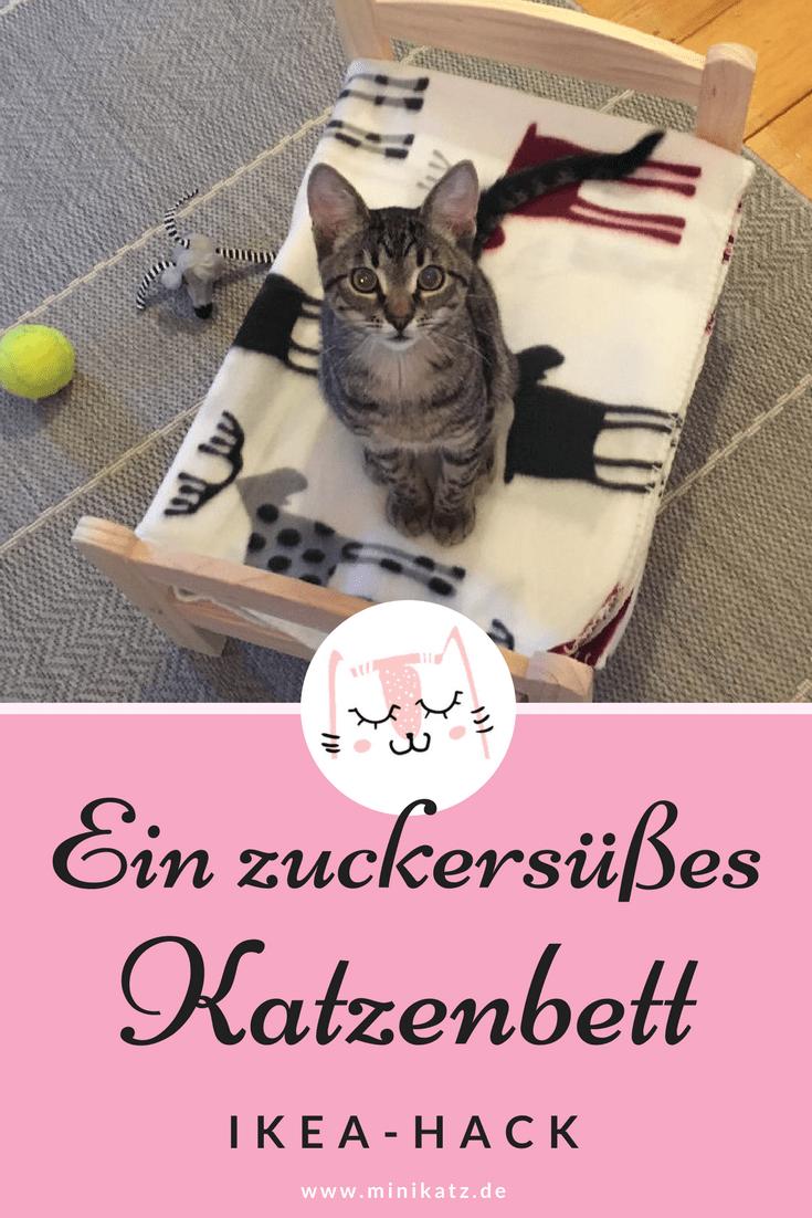 IKEA-Hack - ein zuckersüßes Katzenbett