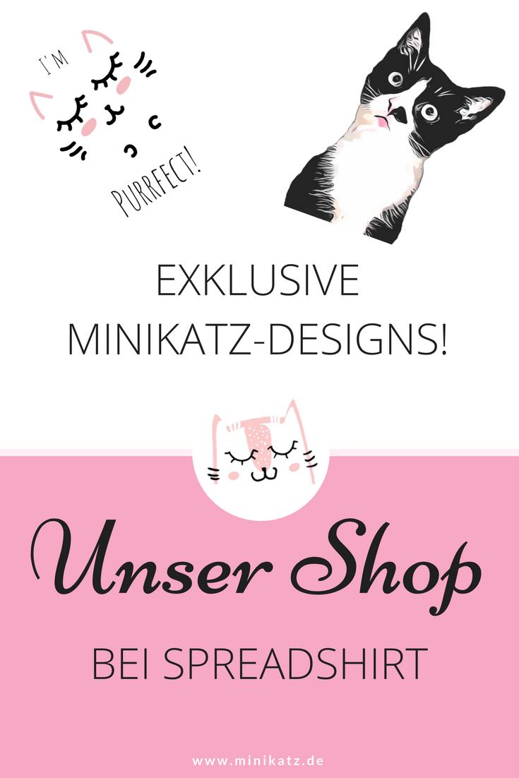 Spreadshirt Shop miniKatz - exklusive Katzendesigns