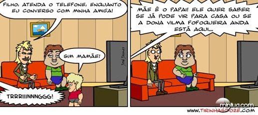 Vilma fofoqueira