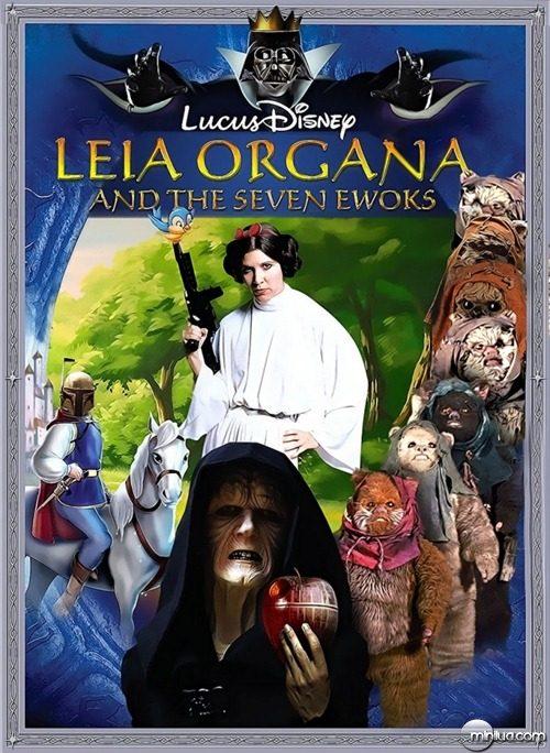 Leia-Organa-and-the-Seven-Ewoks--85812