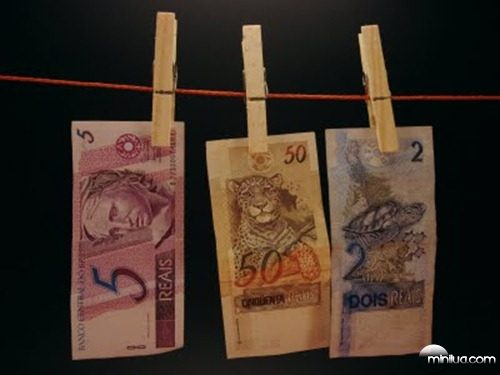 dinheiro lavado