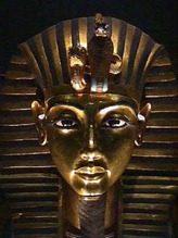 Mascara mortuaria de Tutankamon