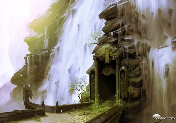 Waterfall_Doorway_by_arcipello-600x420