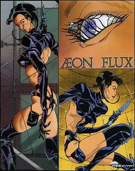 Resultado de imagem para Aeon Flux serie MTV