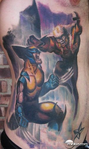 x men tattoo