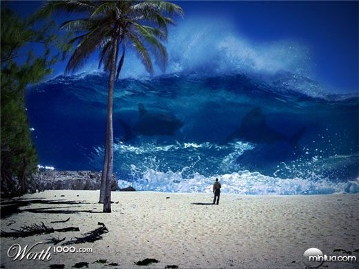 tsunami-with-shark-whales