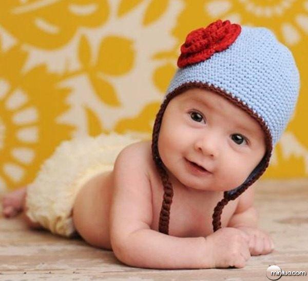 1296216168_161663134_1-Fotos-de--Lindos-gorros-e-boinas-para-bebes