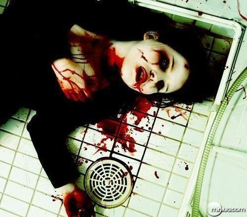 suicide-red-blood-girl