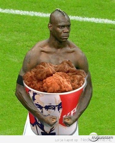 Balotelli-comida