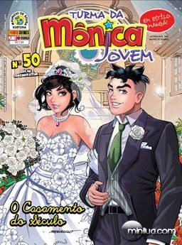 monica e cebolinha casamento