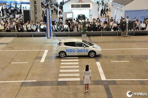 Nissan Leaf NSC-2015 prototype