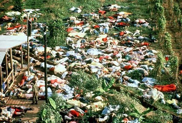 O maior suicídio coletivo da história 918 mortos