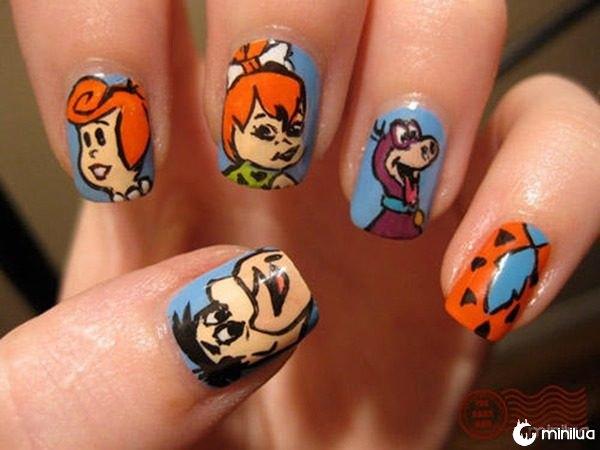 nerd-nails-flintstones