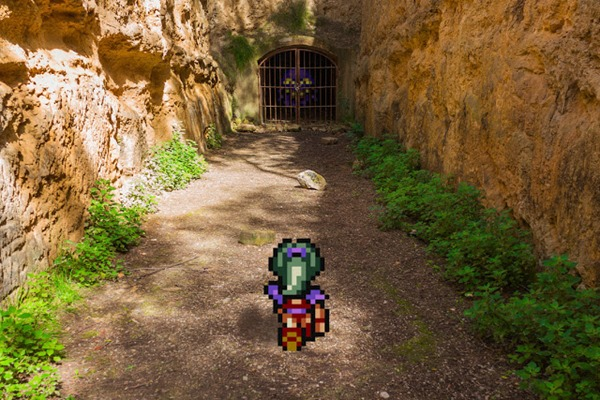 guerrilha nerd games virtual real Final Fantasy VI Forest Dungeon
