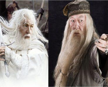 """Incríveis semelhanças entre """"Harry Potter"""" e """"Lord of the Rings"""""""