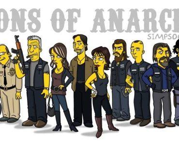 "E se ""Sons of Anarchy"" fosse ""simpsonizado""?"