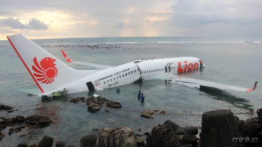 Bali Lion Air plane crash