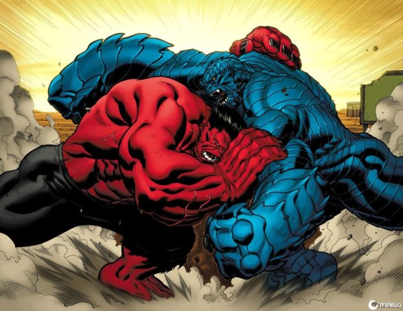 Red_Hulk_meets_A_Bomb_by_skage