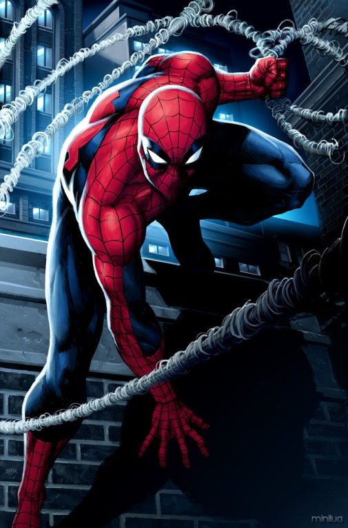 Spiderman_by_JPRart