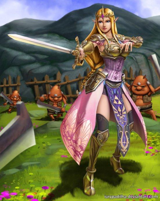 hyrule_warriors__queen_zelda_by_iurypadilha-d7nuuas (1)