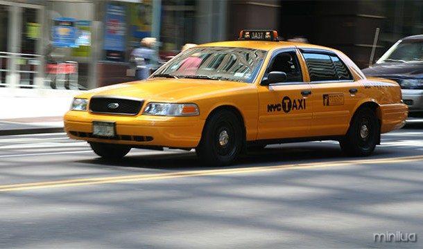 Carro do táxi