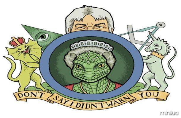 lagartos espaço