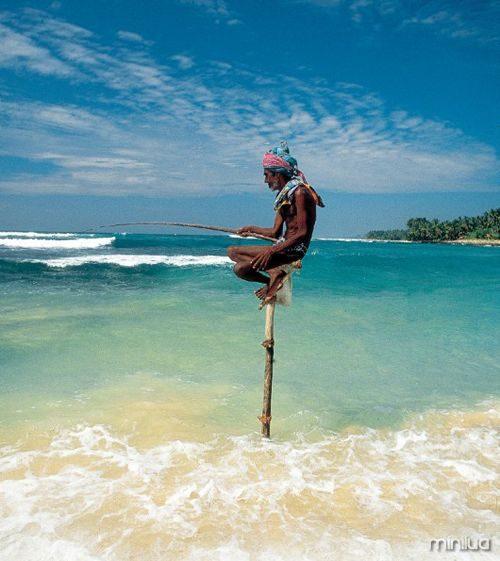 balanceamento de pescador