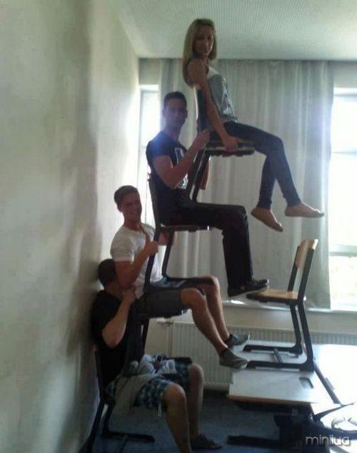 cadeiras que balançam