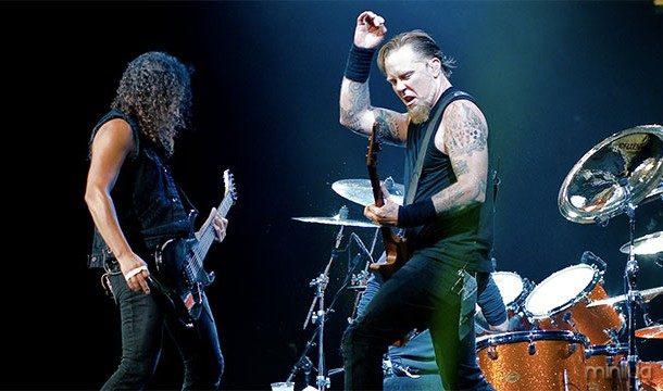 Metallica recebeu o título de ser a primeira e única banda a tocar em todos os sete continentes pelo Livro Guinness de Recordes Mundiais depois que ele fez um show na Antártida