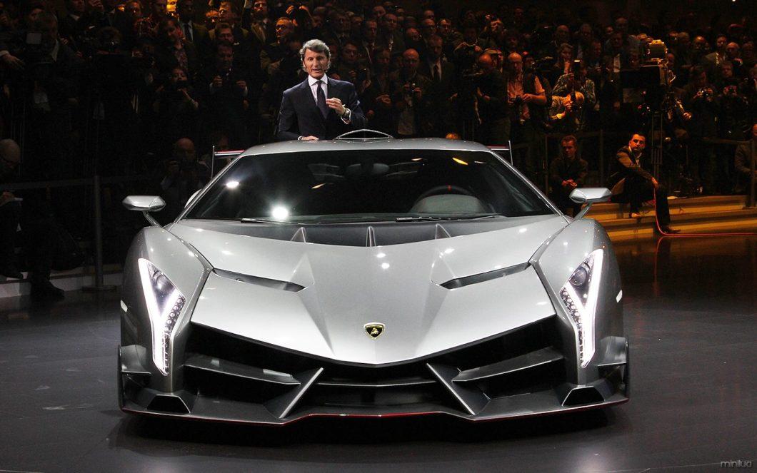 Lamborghini-Veneno-front-view