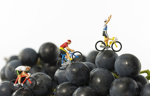 toy puppets cycle racing to the top