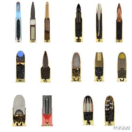 munições